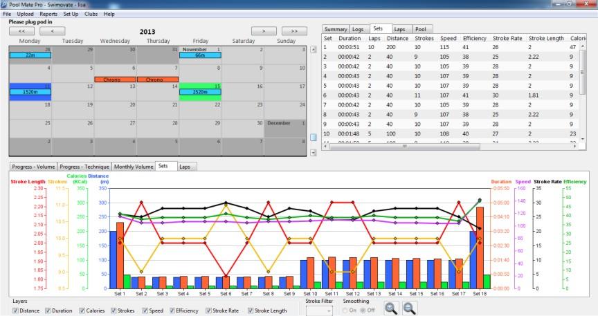 Schermate software poolmate PRO